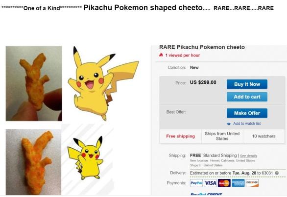1 pikachu