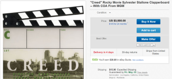 01 CREED CLAPPERBOARD